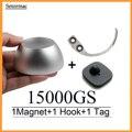 Магнитный съемник для гольфа 15000GS, съемник этикеток безопасности + съемный крючок для ручной ключей + поставщик этикеток aбудильника для сис...