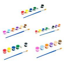 1 Set 3ml/5ml Hand-painted Acrylic Paint Children Safe Painting Pigments Kindergarten DIY Art Graffiti Pigment H7EC