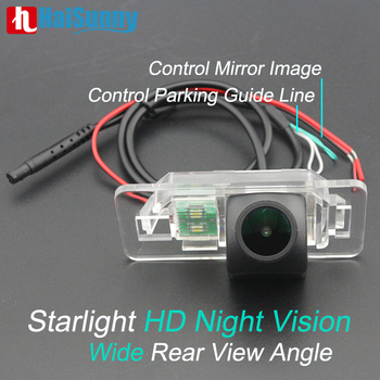 Rear View Backup Camera For BMW E91 E90 E39 E84 E71 E60 328i 325 X1 E46 MCCD Fisheye Starlight Night Vision BMW Reverse Camera image