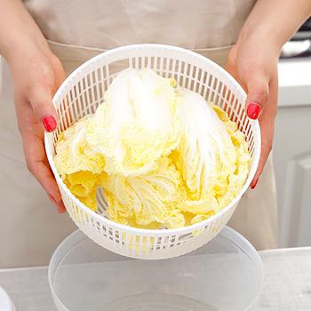 Sałatka warzywna spin suszarka kosz spustowy umyte miski naczynie przechowywanie sitko miska spustowy czyszczenie warzyw durszlak narzędzie tanie i dobre opinie Na stanie Ekologiczne Sałatka spinners Vegetable Dryer CE UE Other