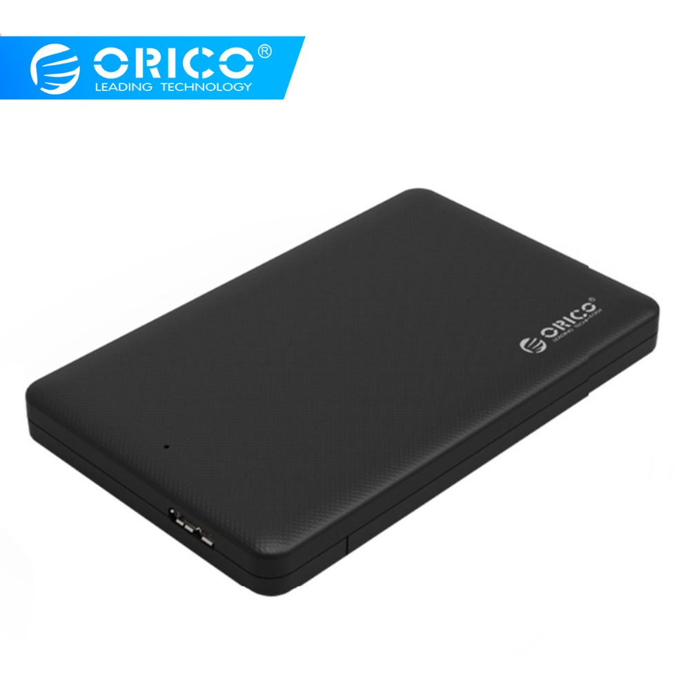 2.5 HDD Enclosure,ORICO Sata To USB 3.0 HDD Case Tool Free For 7mm/9.5mm 2.5 Hard Disk Drive