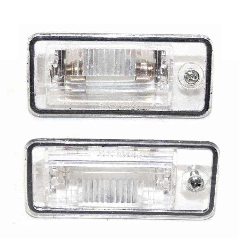 Пара Слева и справа номерного знака светильник лампа объектив для AUDI A3 A4 S4 B6 B7 A6/S6 Q7 2007-2009 RS4 2006-2008 8E0807430A 8E0807430B
