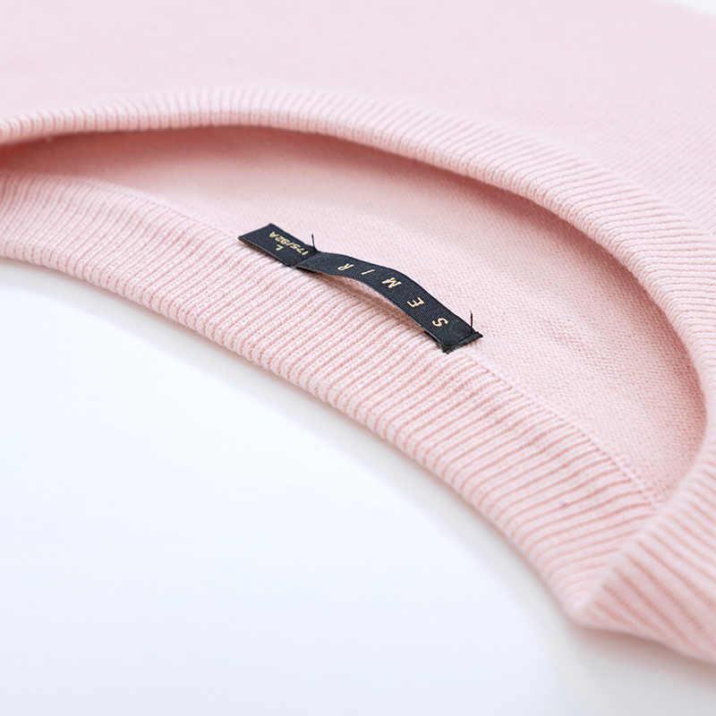 Semir Trui mannelijke Koreaanse versie lente dunne gedeelte ronde hals trui trui 2019 nieuwe contrast kleur gestreepte jeugd trui