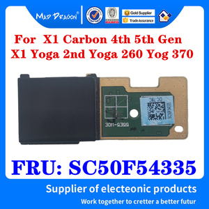 NEW Original Fingerprint Reader Card For Lenovo Thinkpad X1 Carbon 4th 5th Gen X1 Yoga 2nd Yoga 260 Yog 370 Laptop SC50F54335