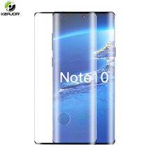 Film For Samsung Galaxy Note 10 Plus Pro Tempered Glass 3D Curved Edge Screen Protector On For Samsung Note 10 Protective Glass mr northjoe 10811 protective tempered glass screen protector for samsung note 2 n7100 transparent