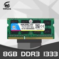 Memória ddr 3 do portátil de veineda 2gb 4gb 8gb 1333 1600 mhz 204pin 1.5 v PC3 10600 memória do caderno de sodimm ram|RAM|   -
