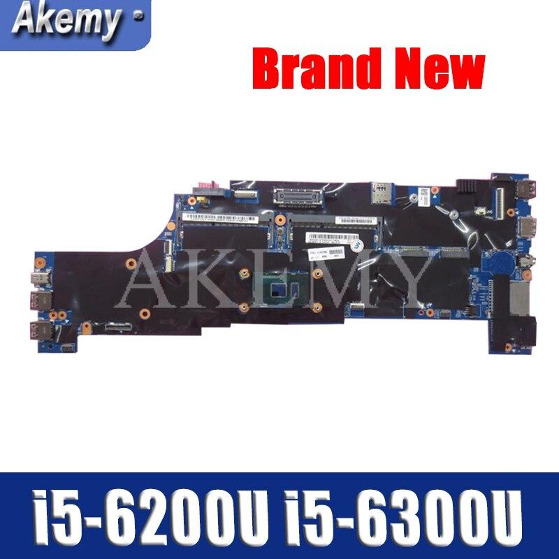 SAMXINNO T560 Motherboard For Lenovo ThinkPad T560 W560S P51S P50S Laotop Mainboard with i5-6200U i5-6300U CPU 01AY314
