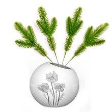 5/10Pcs Artificial Flower Green Pine Needle for Wedding Christmas Decoration DIY Craft Gift Xmas Tree Decor Fake Plant Scrapbook