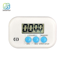 Magnetic LCD Digital Kitchen Countdown Timer Alarm with Stand Kitchen Timer Cooking Timer Alarm Clock with Memory Function