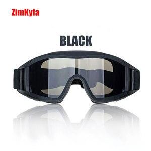 Image 2 - Tactical swat military Paintball 3 Objektiv PCP Auge tragen Augenschutz Goggle Maske