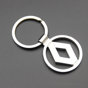 Car styling 3D Matel car keyrings for audi Lexus Renault Opel vw toyota kia ford mazda car keychain car accessories