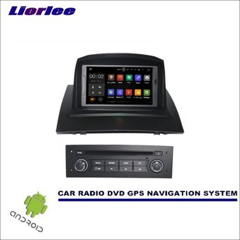 Liorlee Car Multimedia Navigation For Renault Megane II 2002-2009 CD DVD GPS Player Navi Radio Stereo Screen Wince/Android image