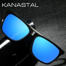 Square Polarized Women Sunglasses Men Brand Designer Vintage Sun glasses Aluminum Leg Driving Fishing Shade Eyewear