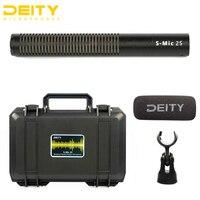 Deity s mic 2 s shotgun microfone ultra baixo fora eixo coloração baixo inerente auto ruído resistente às intempéries rf interferência prova|Microfones| |  -