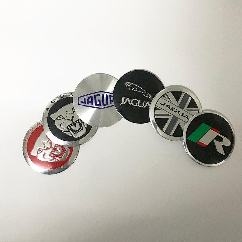 Headrest Badge decal sticker *Jaguar LOGO* 4-pcs