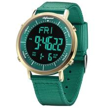 Парные часы спортивные цифровые светодиодный водонепроницаемые наручные часы пара аналоговые цифровые военные армейские стильные парные электронные часы