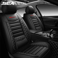 Brand Design Car Seat Covers Set Universal Fit Most Cars Covers Automobiles Front Rear Seats Protector Cushion Car Accessories