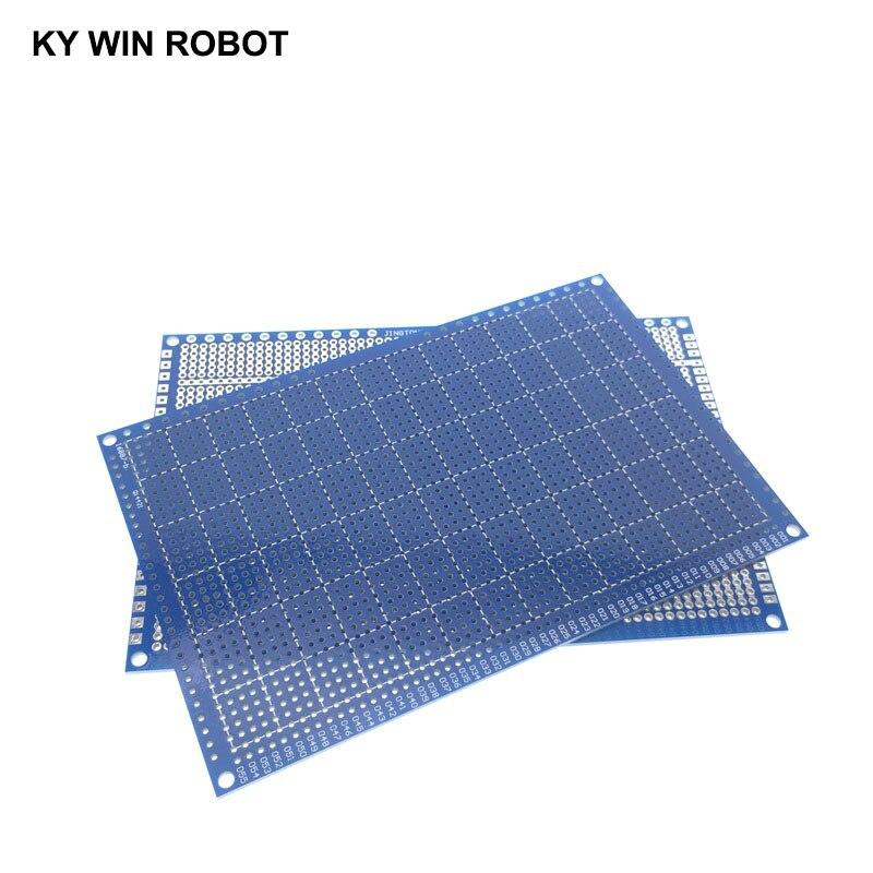 1 шт. DIY 10*15 см синий Односторонний Прототип бумага PCB Универсальный Эксперимент Матрица платы 10x15 см для Arduino