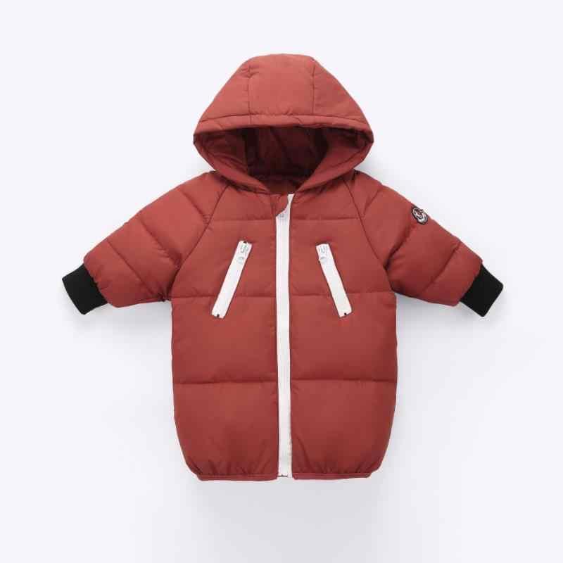 2019 yeni erkek kış ceket çocuk kapşonlu ceket gözlük çocuk giyim 2-6 yıl kız çizgi film sıcak aşağı pamuk coat