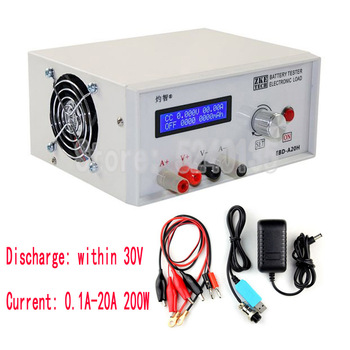 Probador de capacidad de carga electrónica EBD-A20H, equipo de descarga, instrumento medidor de descarga 1
