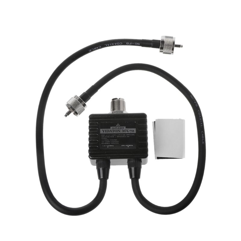 MX72 HAM Antenna Combiner Frequency Transit Station Mobile Radio Duplexer Electronic Accessories