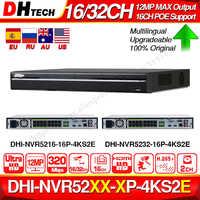 Dahua Pro 32CH Nvr NVR5232-16P-4KS2E con 16CH Poe Supporto Porta a Due Vie Parlare E-Poe 800M Max di Rete video Recorder per Il Sistema.