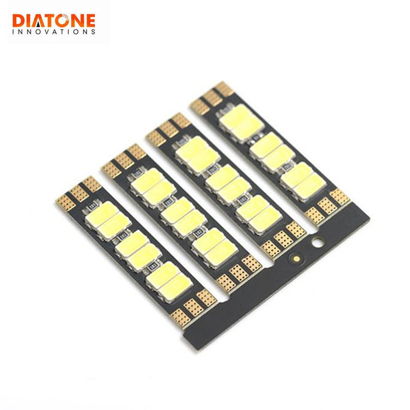 4 PCS Diatone 601W MAMBA LED Strip Light Board For RC Drone FPV Racing Multicopter DIY Accessories Spare Parts Frame ESC