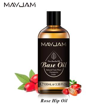 100ml Pure Natural Rosehip Essential Oil for DIY Skin Care Base Essential Oils Grapeseed Rose Bip Seed Avocado Olive Jojoba Oil leozoe helichrysum essential oil certificate of origin italy high quality helichrysum oil 100ml aceite esencial etherische oli