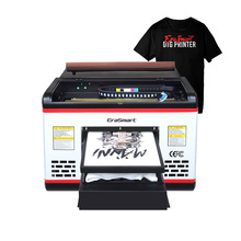 Erasmart A3 T Shirt Printing Machine Dtg Printer Textile Fabric Printer Direct to Garment