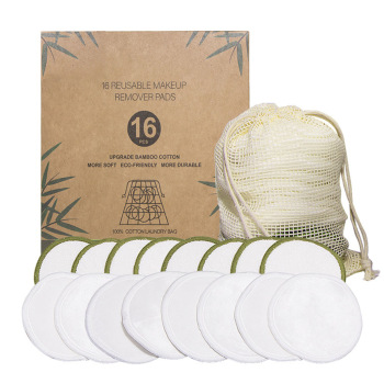 20pcs Reusable Cotton Pads Facial Cleansing Wipes Pads Make Up Remover Sets Washable Environmental Protection With Laundry Bag 1