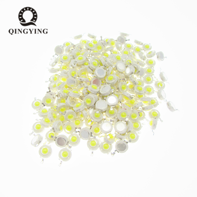 10pcs 1W 3W LED High Power LEDs Cold White Natural White Warm White RGB Red Green Blue Yellow Light Source
