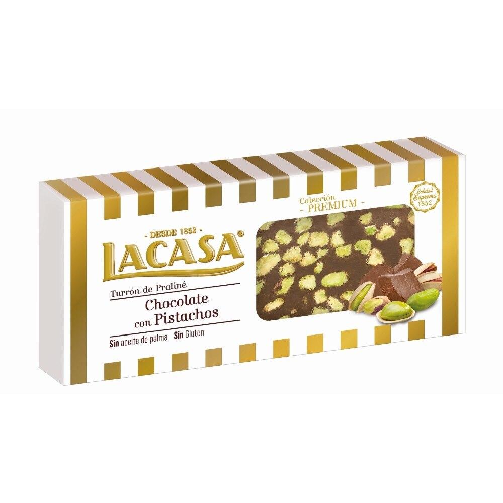 Chocolate ferret with pistachio milk · 200g