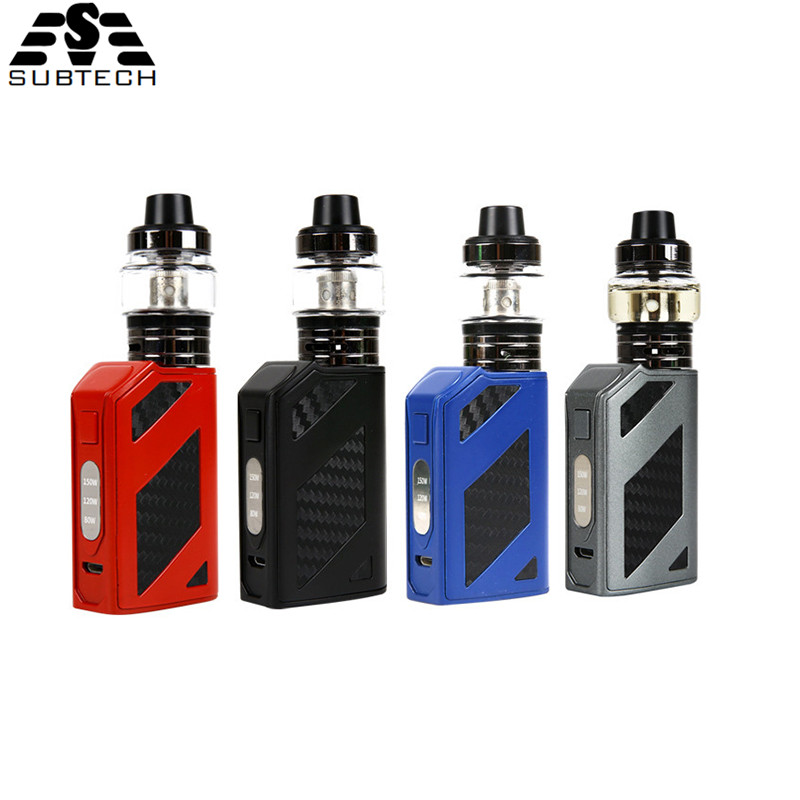 Original Electronic <font><b>Cigarette</b></font> <font><b>150w</b></font> Kit <font><b>Box</b></font> <font><b>Mod</b></font> 2000mAh Built-in battery With 3.0ml Tank vaporizer <font><b>E</b></font>-<font><b>Cigarette</b></font> <font><b>box</b></font> Vape kit image