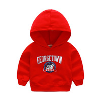 2019 fashion baby hooded Cotton solid color Sweatshirt Toddler Baby Kids Boys Sweatshirt Tops Clothes Casual Sweatshirt
