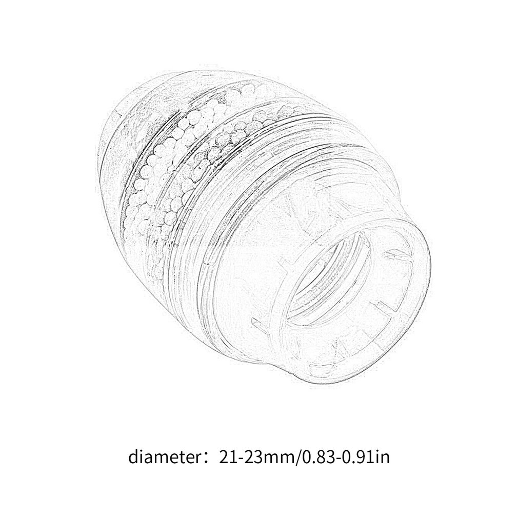 Купить с кэшбэком 2018 New Water Filter Carbon Home Household Kitchen Mini Faucet Tap Water Clean Purifier Filter Filtration Cartridge 21-23mm