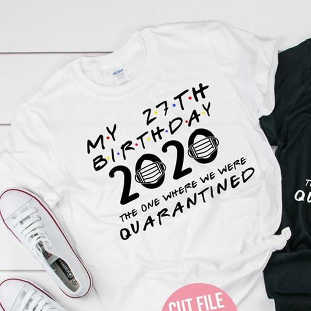 T-shirt femme | En coton, décontracté et à la mode, My 27e anniversaire, Tumblr, 90s,