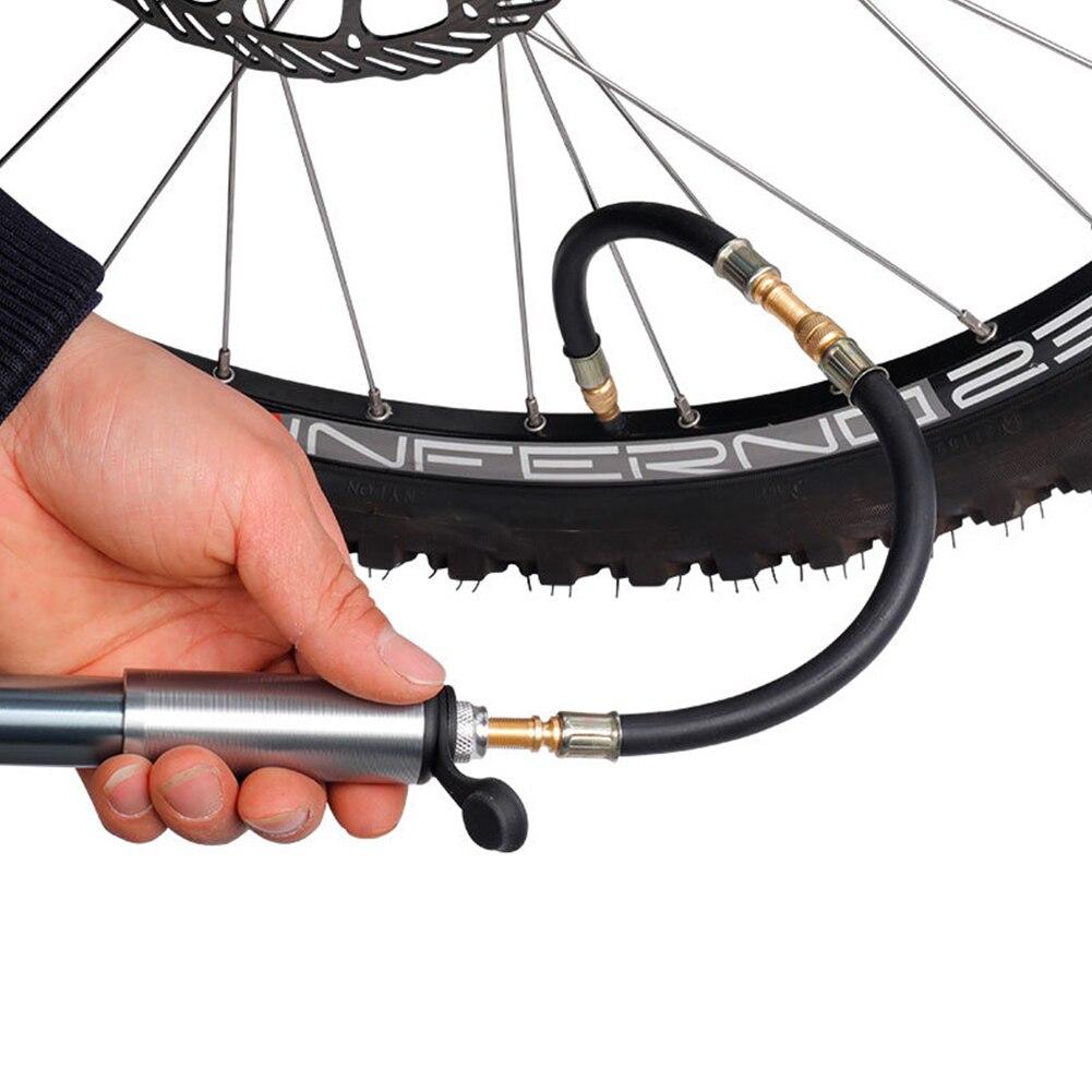 Flexible Rubber Hose Car Wheel Valve Stem Tire Valve Extension with Cap