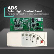 Микроволновый радиолокационный датчик, солнечный светильник, панель управления, 3,7 в, 7,4 В, литиевая батарея, солнечный Точечный светильник, монтажная плата, электрооборудование