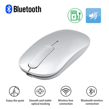 Bluetooth Wireless Mouse Rechargeable Touch Scroll Computer Mouse Silent Ergonomic Slim PC Mause Optical Mice For Macbook Laptop bluetooth wireless computer mouse arc touch ergonomic optical 3d mause 1200dpi folding mini bt mice for iphone microsoft surface