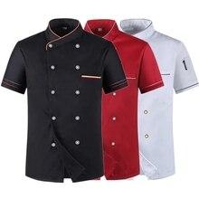 Cook Coat Chef-Jacket Waiter-Uniform Pastry-Clothes Long-Sleeve Kitchen Restaurant Women
