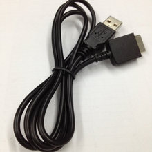 Cable de carga de datos USB para Sony Walkman E052 A844 A845 MP3 MP4 jugador negro(China)