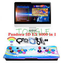 Game-Console Joysticks Arcade-Box WIFI Pandora 3d SAGA Multiplayer EX 8000-In-1 128-Gb