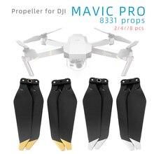 2/4/8 шт. 8331 пропеллеры для DJI Mavic Pro платиновая пластина Дрон быстросъемные Складные лезвия запасные Запчасти