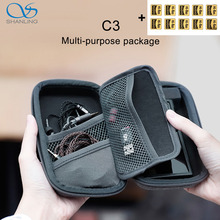 SHANLING C3 Storage Box for Portable Players M0 M1 M3S M5S FIIO M5 M6 M9 M7 M3K M11 M15 M11 Pro Multi purpose Package
