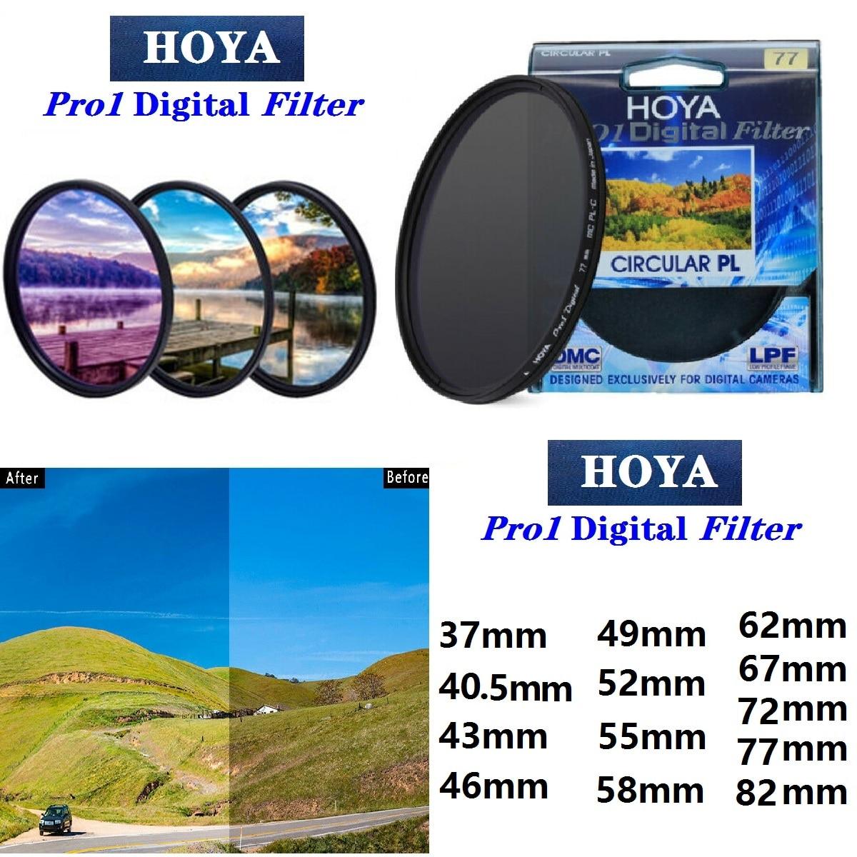 Цифровой круговой поляризатор HOYA CPL Pro1, защитный фильтр объектива для SLR-камеры