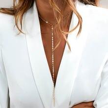 Женское золотое ожерелье с монетами подвеска на шею чокер золотистое