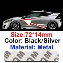 1 pçs novo carro de prata preto metal s linha linha sline s linha sline para audi a3 a4 a6 a7 rs1 rs2 rs3 rs4 rs4 tt emblema adesivo