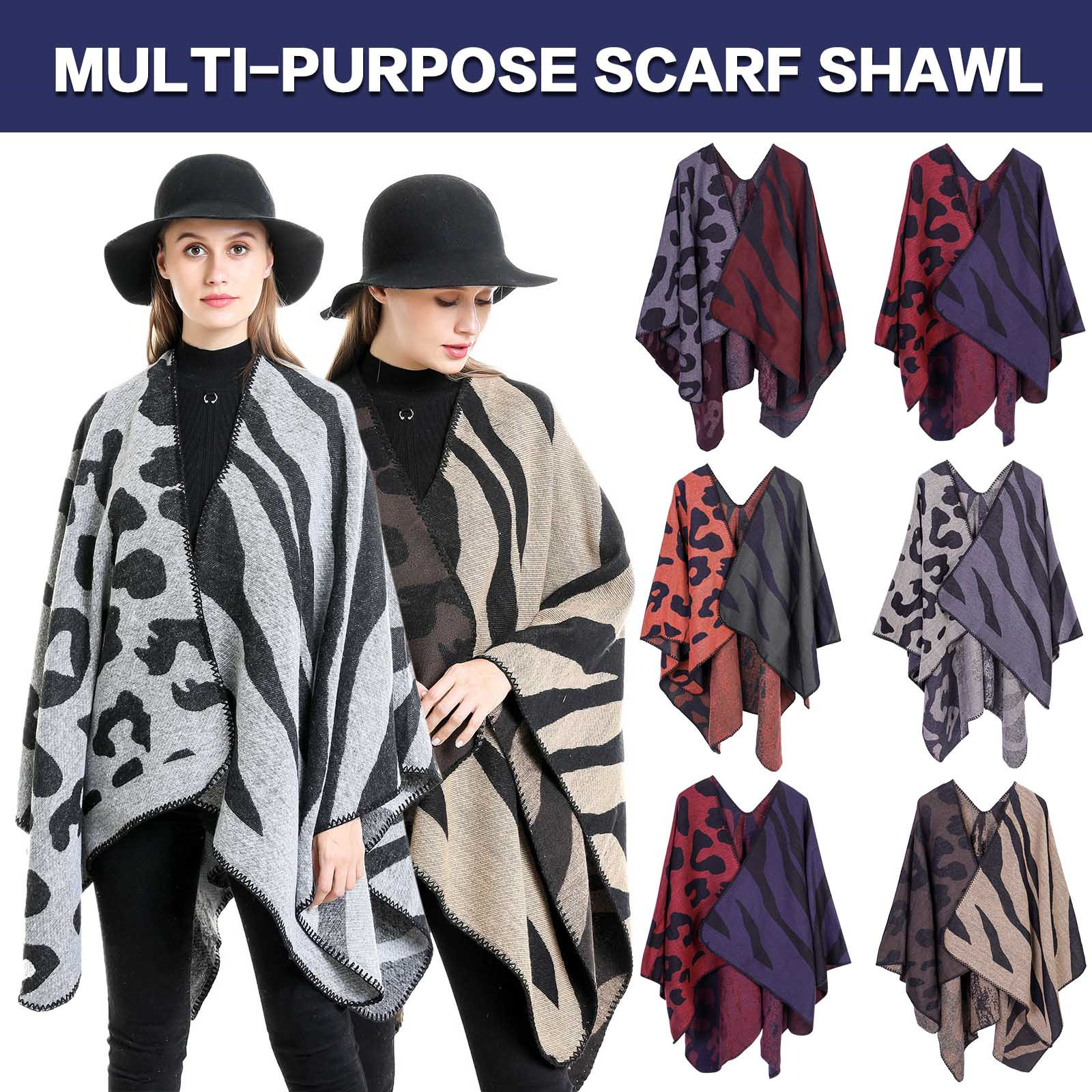 2020 Patchwork Scarf For Women Warmer Winter Pashmina Scarf Shawls Female Blanket Wraps Echarpe Foulard Femme New Arrival