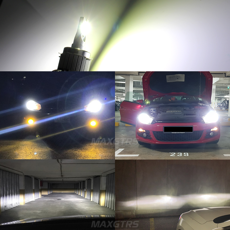 Image 5 - 2x G1 G2 7200Lm Car LED Canbus Headlight Driving Lamp Light Bulb Kit 72W DC9 36V For BMW Audi Benz VW Golf 6 7 Nissan-in Car Headlight Bulbs(LED) from Automobiles & Motorcycles