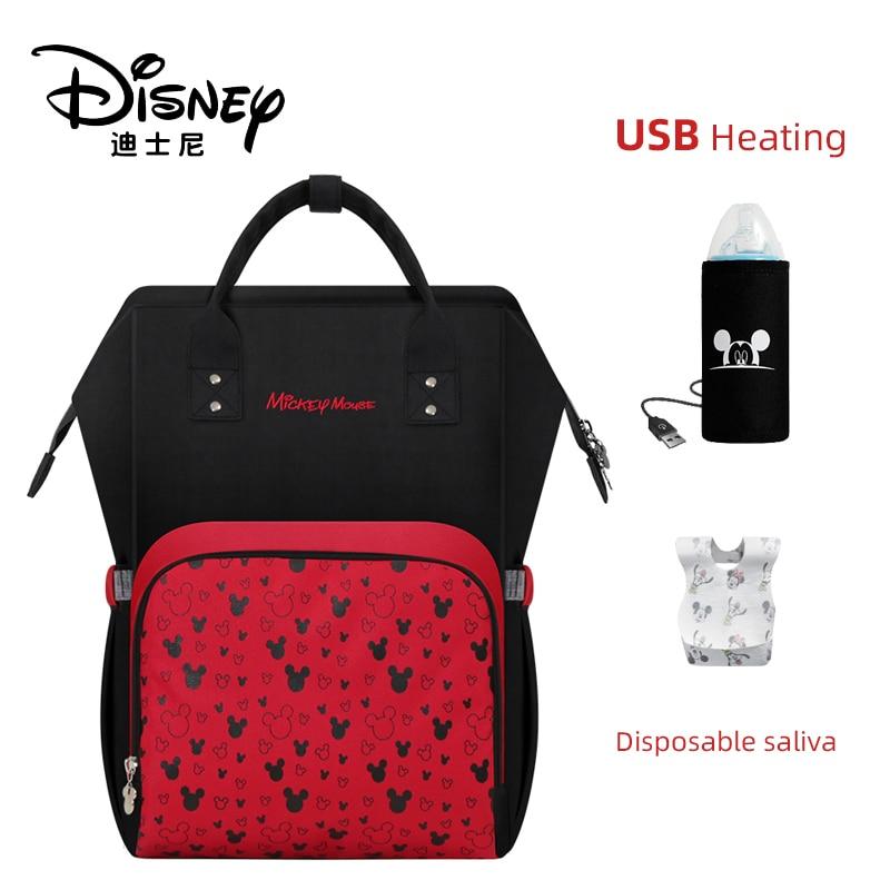 Disney Baby Care Travel Backpack Mommy Diaper Bag Maternity Diaper Care Bag Designer Disney Mickey Minnie Bag